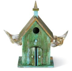 Winged Bird House DIY from Michaels