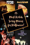 13 must watch scary movies for Halloween! #HalloweenMovieNight