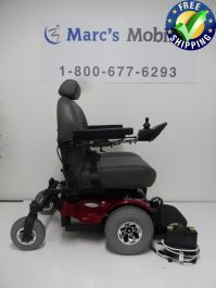 This PaceSaver Boss 6 Power Chair is in Like New Condition and has a seat. The PaceSaver Boss 6 is a heavy duty power chair with a 675 weight limit. Powered Wheelchair, Types Of Flooring, Rear Wheel Drive, 3 Months, Stability, Outdoor Power Equipment, Turning, Boss, Chairs