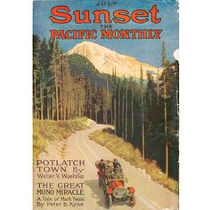 July 1912 Sunset cover