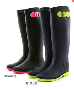 Colorfull High Quality  Matt Color    Fashion Designer Women's PVC Rainboots Rain Water Boots Shoes $41.45