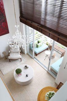 Loft Duplex - Morumbi São Paulo: Salas de estar ecléticas por Antonio Armando Arquitetura & Construção