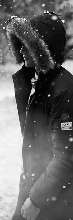 Winter Essential: Men's Winter Parka Overcoat#mens winter coats#mens winter parka overcoat