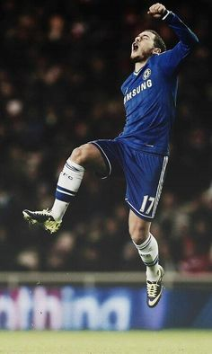 Congrats to Eden Hazard for winning the PFA Young Player of the Year award! #CFC