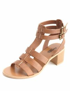 Cosplay Shoes for Nami from One Piece - Low Heel T-Strap Gladiator Sandals: Charlotte Russe