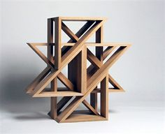 Darn, if I don't love good design.  Developed by designer Jaewon Cho of J1studio as a sculptural building block, M.stools are sold in pairs for your stacking and arranging pleasure. Combine two M.stools to create a cube, eight for a circle, or experiment on your own for the many possibilities in-between.