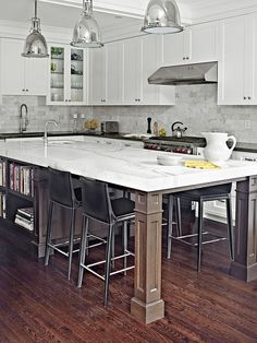 21 Kitchen Islands With Seating Youu0027ll Never Stop Dreaming Of
