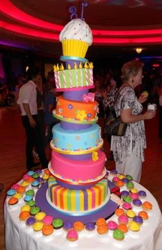 Th Birthday Cake By Mummies Crummies QLD Www - The biggest birthday cake