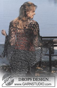 DROPS 86-34 - Shawl in Puddel - Free pattern by DROPS Design
