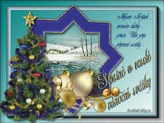Vánoční přání « Rubrika | Blog u Květky Christmas Bulbs, Blog, Holiday Decor, Home Decor, Decoration Home, Christmas Light Bulbs, Room Decor, Blogging, Interior Design