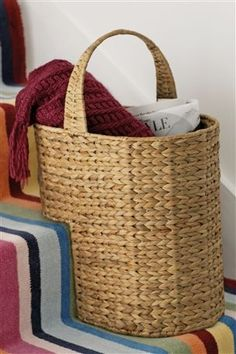 Is It Sad To Love A Stair Basket? Probably   But I Do! Cesta