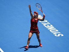 Angelique Kerber wollte vor den bevorstehenden Australian Open nichts riskieren. Foto: Paul Miller