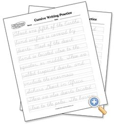 004 Cursive Handwriting Worksheet on handwriting sentences