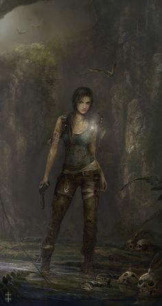 "Eve Ventrue's ""Lara Croft, Tomb Raider"""