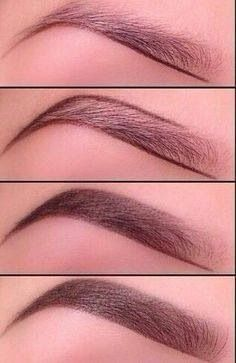 The ombré eyebrow