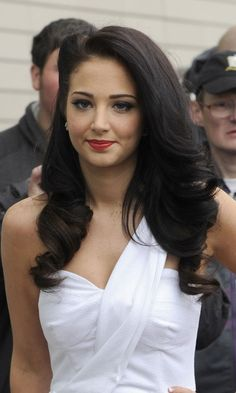Pin Back One Side Of A Curled Hairstyle For Retro Glamour Like Tulisa, 2011