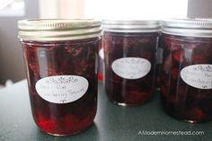Cranberry Sauce with Port Wine and Cinnamon Sticks