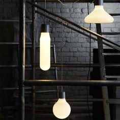 Design House Stockholm Pendelleuchte Form, Tube #DesignHouseStockholm #artvoll# TopMarke www.artvoll.de