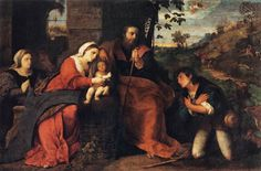 "Palma Vecchio--""Adoration of the Shepherds"""