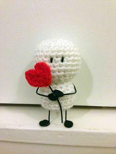 Mesmerizing Crochet an Amigurumi Rabbit Ideas. Lovely Crochet an Amigurumi Rabbit Ideas. Crochet Amigurumi, Amigurumi Patterns, Amigurumi Doll, Crochet Dolls, Crochet Patterns, Crochet Gifts, Cute Crochet, Crochet Mignon, Yarn Crafts