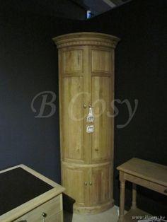 PR Interiors Athena Hoekkast in weathered oak-eik 120