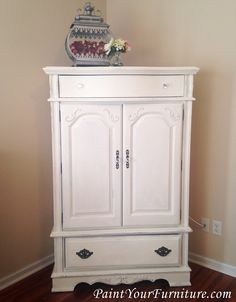 Painted Furniture Armoire