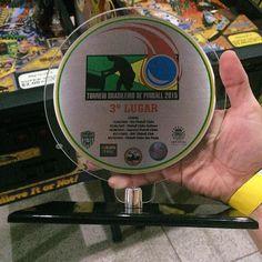 Terceiro lugar no ranking Brasileiro de Pinball. #pinball #pinballbrasil by ferzak