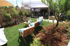 Arquiteto Luís Pedro Abreu | Exteriores | Outdoor | Garden Chair and Sun Lounger Cushions | Gazebo with curtains | Plants