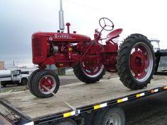 Farmall Super C Tractor