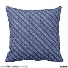 pillow: Živjeli blue