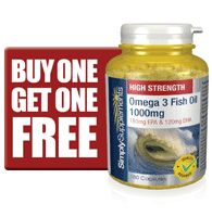 The essential fatty acids EPA and DHA found in omega 3 are vital for the maintenance of a healthy heart.