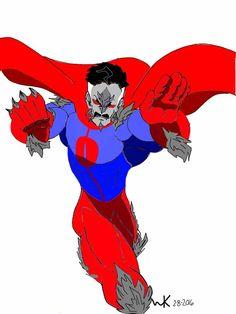doomsday(dc comics)/Omni-man(image comics -  the invincible)