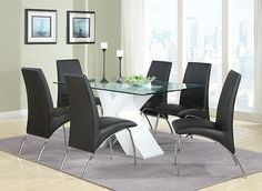 Coaster 120821 Dining Table White New | $509.00
