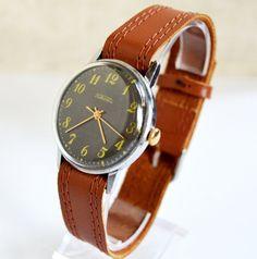 SALE Men's Watch Vintage Collectibles 1970s USSR