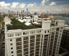 This is what the worlds largest rooftop farm looks like Amazing...right here in NYC