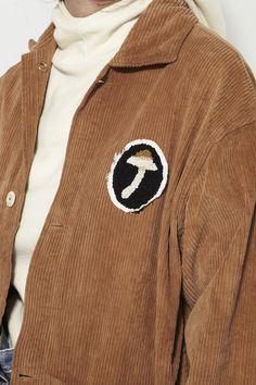 STORY, Short-On-Time Jacket, Bark Brown | MR. LARKIN