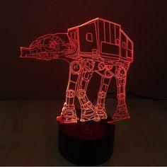 Star Wars 3D Light toys