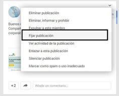 Cómo Destacar las Publicaciones de Google+ en las Comunidades