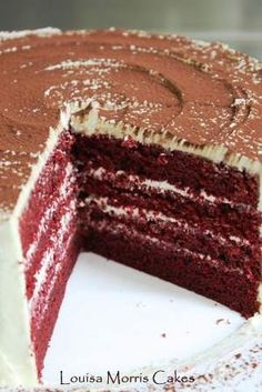 red velvet recipe: use second one from waldorf astoria