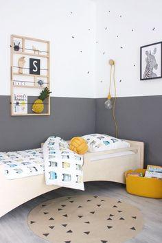 44 Ideas baby nursery yellow walls kids rooms for 2019 Boys Bedroom Decor, Baby Bedroom, Baby Boy Rooms, Bedroom Wall, Girls Bedroom, Bedroom Ideas, Plan Chalet, Ideas Habitaciones, Baby Nursery Diy