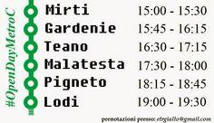 Il Trenino Roma Lido: #OpenDayMetroC - Tour nelle nuove stazioni