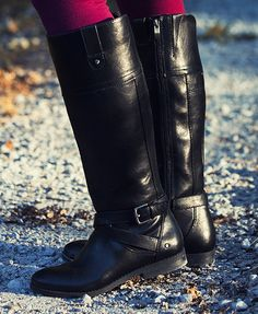 Georgette double strap boots