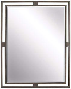 Kichler Hendrik Olde Bronze 24 X 30 Wall Mirror