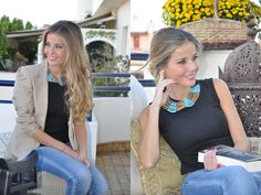 Turquoise necklace | Te Cuento Mis Trucos