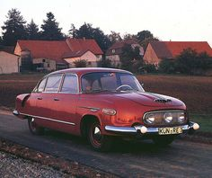 This 1958 Czechoslovakian model was not a very common car in the Eastern block, nor it was a Communist answer to any best-selling Western vehicle. The Tatra 603 was such a rarity on the streets, that ordinary people were considered lucky to even see one. Mercedes Benz 300, Vintage Cars, Antique Cars, Vintage Mustang, Limousine, Bratislava, Ambulance, Old Cars, Exotic Cars