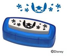 Paper Punch - Disney Stitch with Flowers - Japanese Craft Supply
