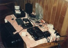 India, Himachal Pradesh, Manali 1990 - My Rig in my room.  Most probably the first DATs brought to India...and made a great impression combined with my esoteric portable audio suitcase (Cambridge Audio) to a roomfull with Laurent, Livio, and many more...