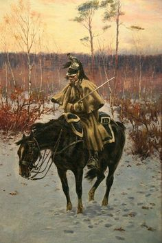 French Dragoon of the Line