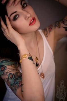 Tattoos can be so beautiful :)