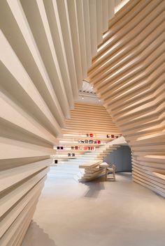 Whitestone Gallery Taipei — ホワイトストーン・ギャラリー台北   Architecture   Kengo Kuma and Associates